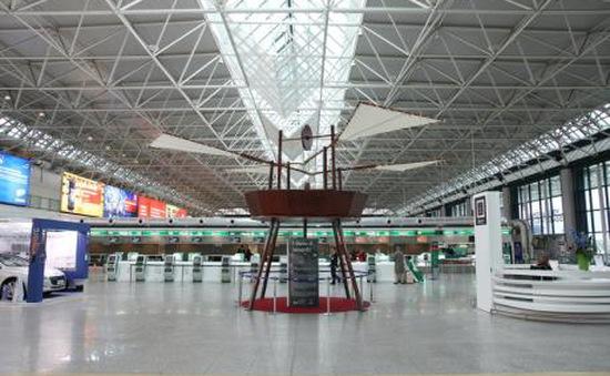 Italy: Sân bay đầu tiên trên thế giới lắp đặt hệ thống chiếu sáng diệt khuẩn