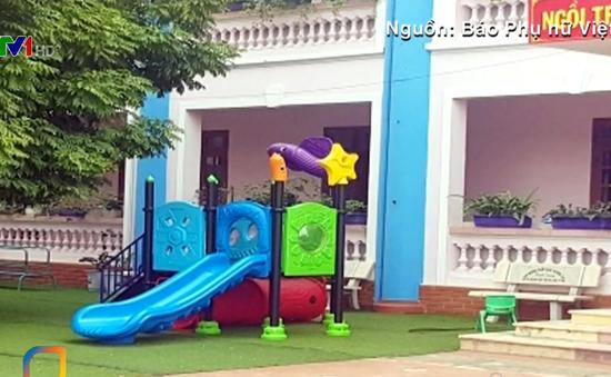 Bé 3 tuổi tử vong do kẹt cầu trượt ở trường mầm non Hà Nội