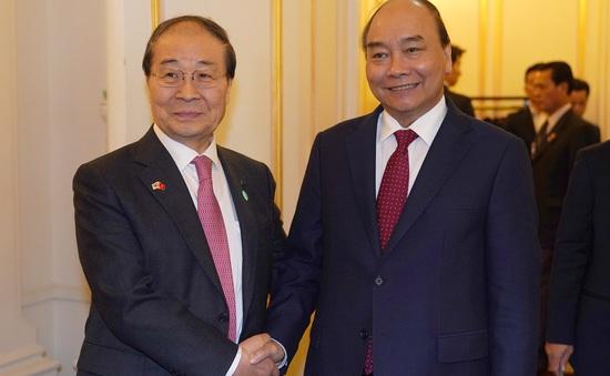 Thủ tướng tiếp Chủ tịch hội Hữu nghị Hàn - Việt