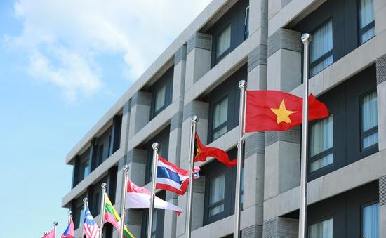 Quốc kỳ Việt Nam tung bay tại SEA Games 30 - Philippines 2019