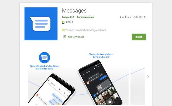 Google Messages cập nhật tính năng xác minh tin nhắn đến