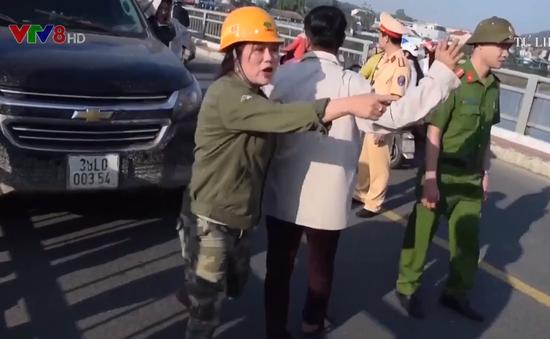 Quảng Ngãi: Gia tăng tình trạng tài xế say rượu tấn công Cảnh sát giao thông
