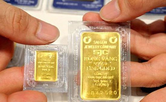 Tỷ giá trung tâm tăng mạnh, giá vàng SJC không biến động