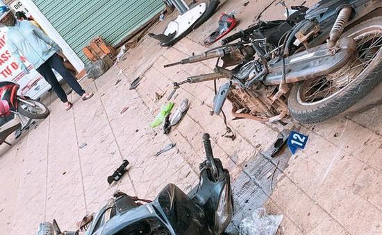 Xe container liên tiếp gây tai nạn tại Bình Phước và Đắk Nông