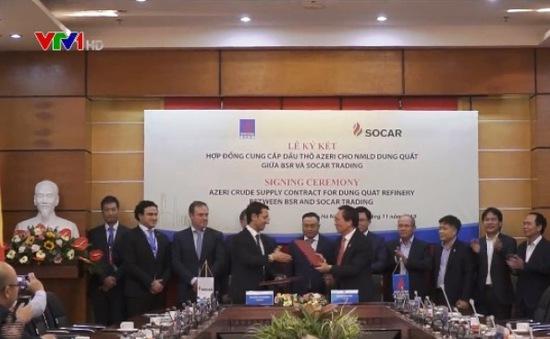 Lọc hóa dầu Bình Sơn ký kết mua 5 triệu thùng dầu thô của Azerbaijan