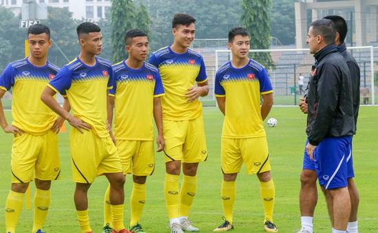 U20 Việt Nam tập buổi đầu tiên chuẩn bị cho giải giao hữu quốc tế