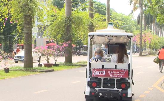 Thử nghiệm thành công xe điện không người lái trong khu đô thị