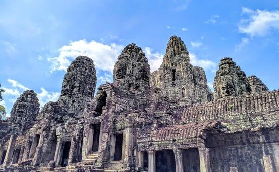 Lượng khách quốc tế đến Campuchia tăng mạnh