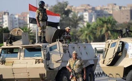 Ai Cập tiêu diệt nhiều phần tử khủng bố ở Sinai