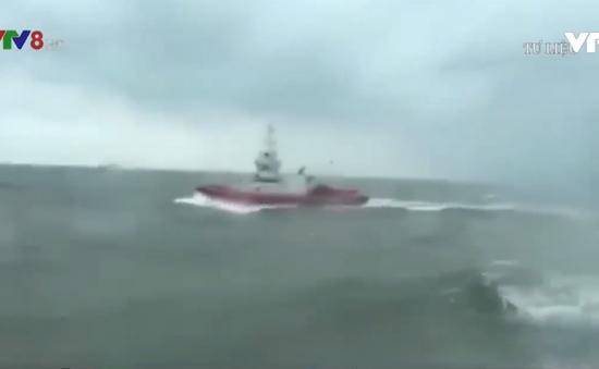 Thi thể thuyền viên tàu Thành Công 999 mất tích được tìm thấy trên biển Quảng Bình