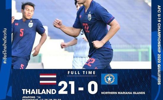 Vòng loại U19 châu Á 2020: Thái Lan thắng 21-0, Lào tạo địa chấn