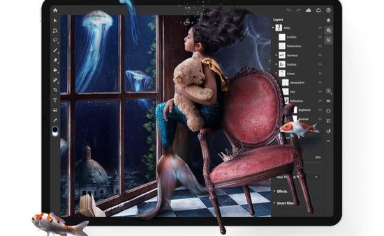 Photoshop cho phép dùng thử miễn phí 30 ngày trên iPad