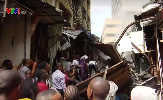 Cháy chợ tại Lagos, Nigeria