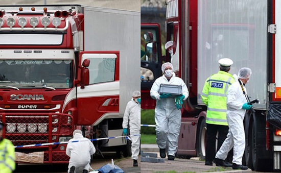 Vụ 39 người tử vong ở Anh: Thực hiện mọi biện pháp phù hợp để bảo hộ công dân