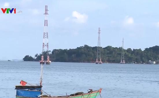 Đưa điện lưới quốc gia đến xã đảo Tiên Hải, Kiên Giang