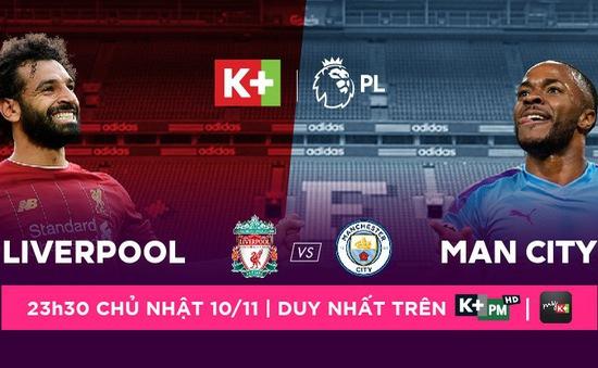 Lịch trực tiếp bóng đá Ngoại hạng Anh vòng 12: Liverpool quyết chiến Man City