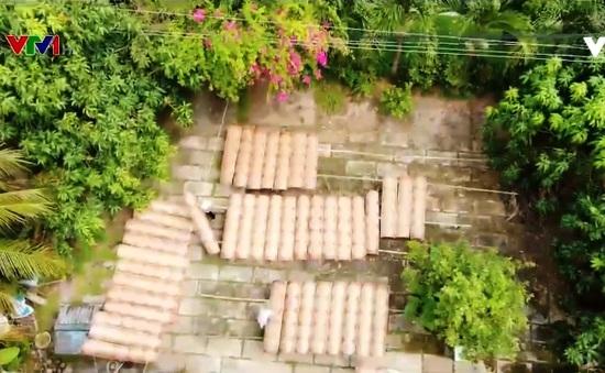 Chuyện giữ nghề ở làng bánh tráng Cù Lao Mây