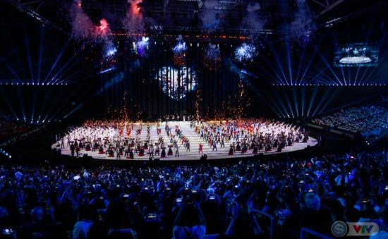 ẢNH: Lễ khai mạc SEA Games 30 đơn giản nhưng đậm màu sắc và giàu ý nghĩa