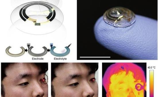 Hàn Quốc phát triển công nghệ sạc không dây cho kính áp tròng thông minh