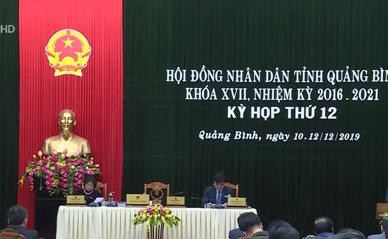 Khai mạc kỳ họp Hội đồng nhân dân tỉnh Quảng Bình