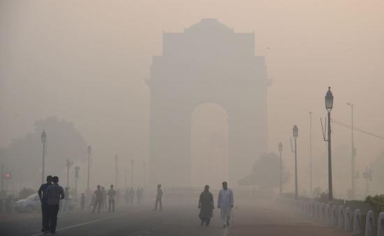 """Chất lượng không khí tại thủ đô của Ấn Độ đang ở mức """"rất kém"""""""