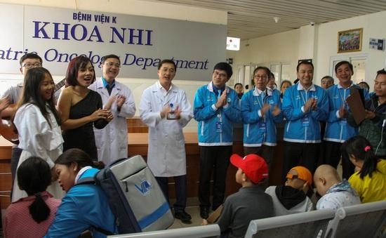 Gần 100 đại biểu thanh niên ưu tú đồng hành cùng chương trình Mang âm nhạc đến bệnh viện