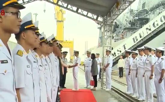 Tàu lực lượng tự vệ Nhật Bản thăm Đà Nẵng