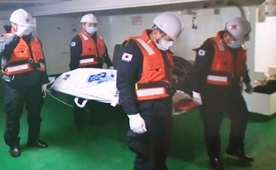 Tìm thấy thi thể 1 thuyền viên Việt Nam trong vụ cháy tàu cá ở Hàn Quốc