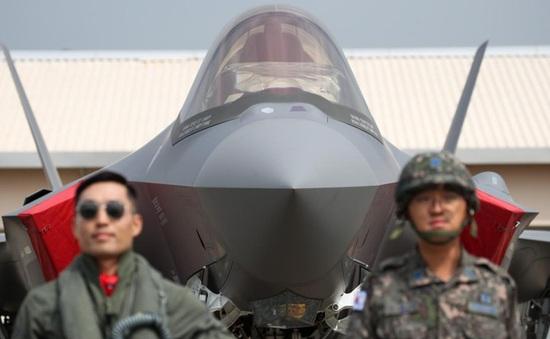 Hàn Quốc triển khai máy bay chiến đấu tàng hình F-35A