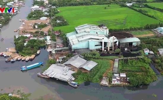 Nhà máy mía đường gây ô nhiễm ở Hậu Giang vẫn hoạt động