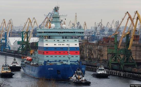 Nga thử nghiệm tàu phá băng chạy bằng năng lượng hạt nhân