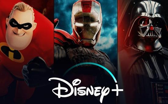 Disney + đã được cài đặt trên 22 triệu thiết bị di động