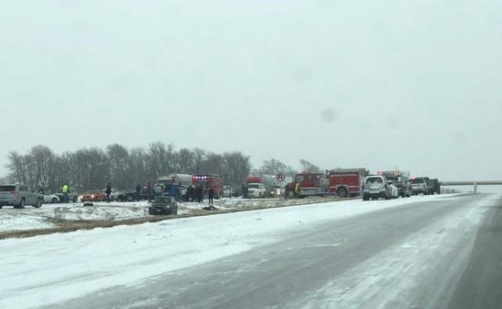 Mỹ: Tai nạn xe khiến 3 người thiệt mạng và 4 người bị thương