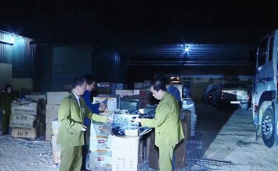 Hà Nội: Liên tiếp bắt giữ nhiều lô hàng nhập lậu