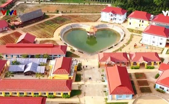 Khai trương trung tâm bảo trợ xã hội nhà may mắn tại Đắk Nông