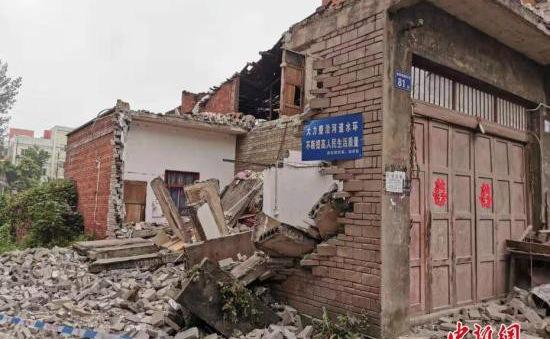 Động đất mạnh 5,2 độ richter làm rung chuyển Tứ Xuyên, Trung Quốc