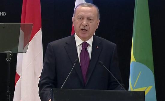 Tổng thống Thổ Nhĩ Kỳ kêu gọi tái định cư tại miền Bắc Syria cho những người tị nạn