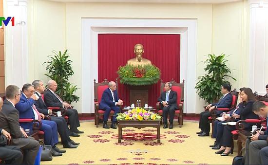 """""""Gazprom cam kết hợp tác chiến lược lâu dài với Việt Nam"""""""