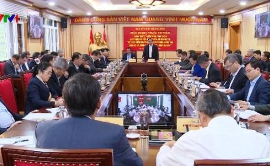 Ban Tổ chức TƯ quán triệt, triển khai Quy định 205 về kiểm soát quyền lực, chống chạy chức, chạy quyền