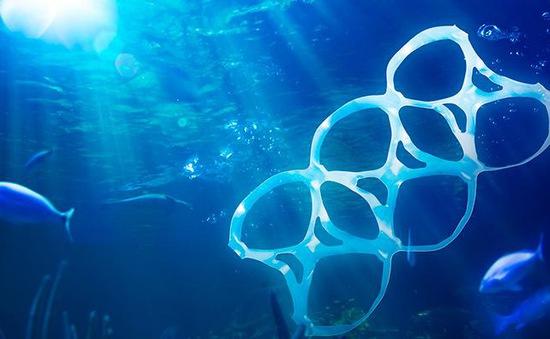 Dọn rác dưới biển Aegean