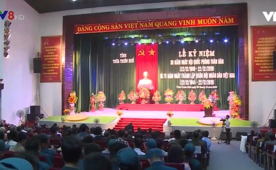 Thừa Thiên - Huế kỷ niệm ngày Quốc phòng toàn dân