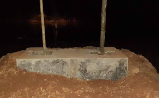 Gia Lai: Sập hố cầu dân sinh ở huyện Chư Păh, 3 người thương vong
