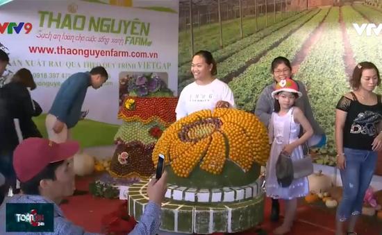 Khai thác cơ hội quảng bá nông sản Lâm Đồng tại Festival Hoa Đà Lạt