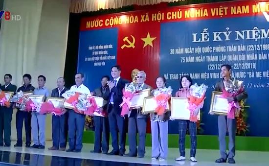 Phú Yên kỷ niệm 30 năm ngày Quốc phòng toàn dân