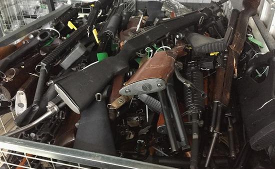 New Zealand kết thúc chương trình ân xá súng đạn