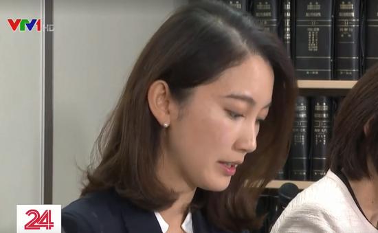 Nữ nhà báo Nhật thắng kiện vụ bị cấp trên cưỡng hiếp