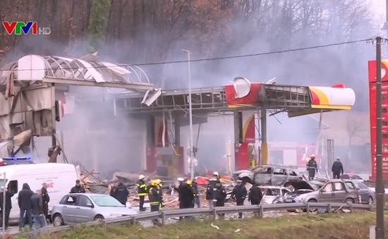 Nổ trạm xăng ở Bosnia, nhiều người thương vong