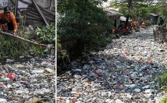 Gần 100% dòng sông ở Indonesia bị ô nhiễm