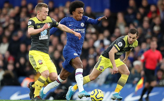"""Chelsea 0-2 Southampton: """"Địa chấn"""" ở Stamford Bridge"""