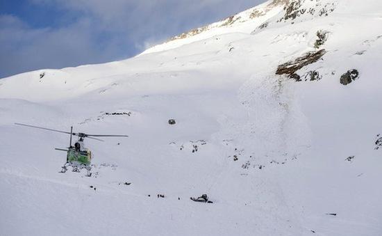 Lở tuyết tại Thụy Sĩ, ít nhất 2 người bị thương
